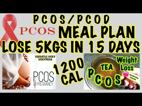 Indian PCOS/PCOD Diet Plan | How To Lose Weight Fast 10 Kgs in 15 Days | Indian Weight Loss Plan