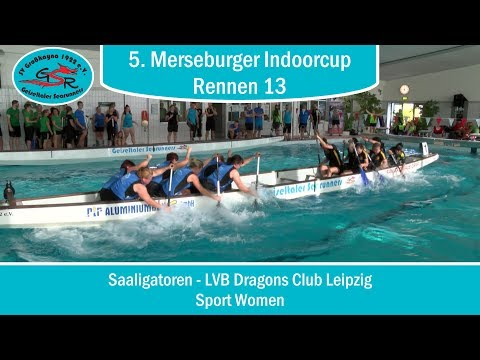 Saaligatoren - LVB Dragons Club Leipzig (Sport Women) | Rennen 13 - 5. Merseburger Indoorcup