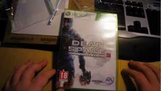 Unboxing Dead Space 3 Limited Edition Xbox 360 [German/Deutsch] (HD)