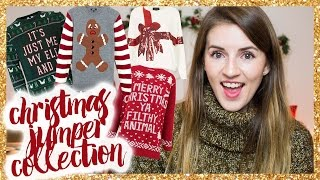 My Christmas Jumper Collection  |  RobynCaitlin