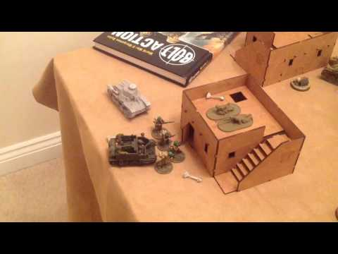 Late British Army v Imperial Japanese Army 1250pts Tank Wars Platoon Selector  Game 2