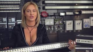Видео обзор светодиодной панели Crystall 52D300WBL