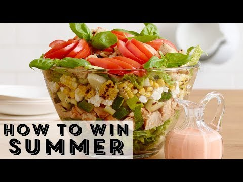 The Ultimate Summer Layered Salad | Food Network