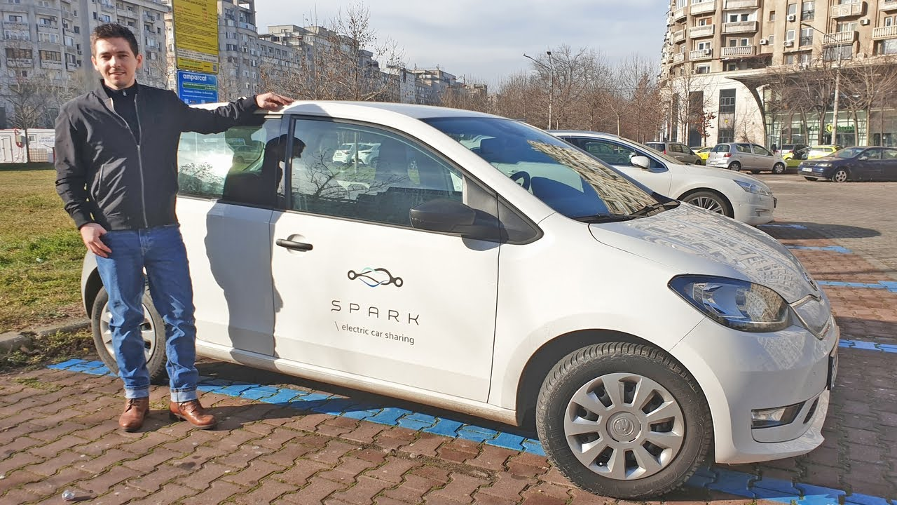 Car Sharing cu o Masina Electrica – Skoda Citigo e IV | Bucuresti
