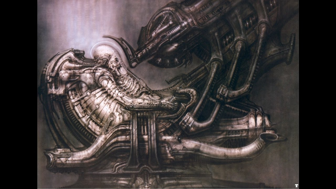 Alien 1979 The Space Jockey Youtube