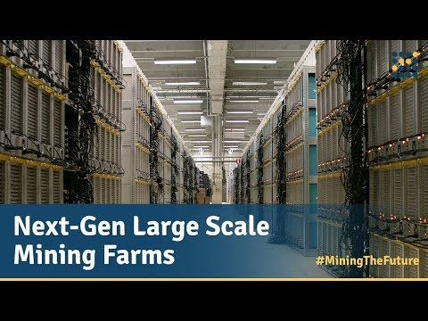 Next-Gen of Cryptocurrency Mining Farms / Genesis Mining #MiningTheFuture – The Series Episode 3