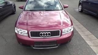 Auta z Niemiec #29/03/2016: Audi A4 /Nürnberg/