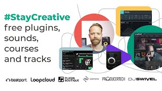 StayCreative with a FREE All-Inclusive Music Production Bundle