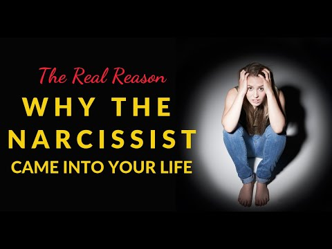 The Real Reason Why The Narcissist Came Into Your Life