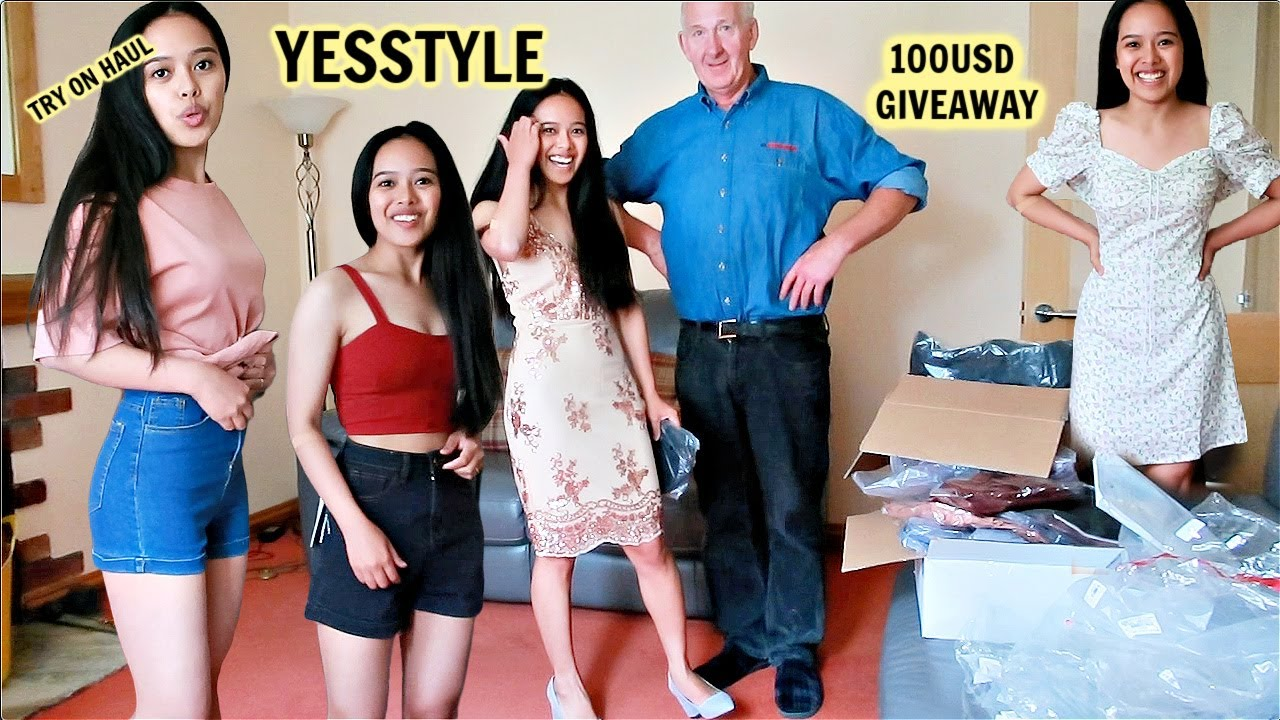 FILIPINA RTISH LIFE IN UK: TRY ON HAUL YESSTYLE! 100USD GIVEAWAY