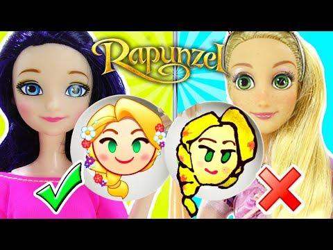 Pancake Art Challenge de las Princesas | Marinette Vs Rapunzel
