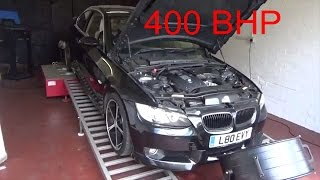 my car became a monster remapped my bmw 335i 400bhp