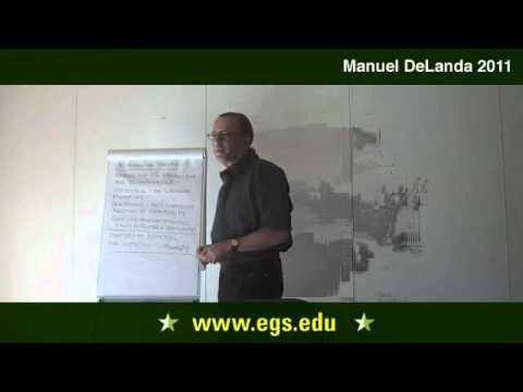 Manuel DeLanda. Assemblage Theory, Society, and Deleuze. 2011
