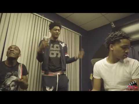 Young N' Ruthless |  In-Studio Vlog | shot by @SSproductions901