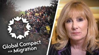 EXCLUSIVE: UN Global Compact on Migration IS legally binding | Janice Atkinson