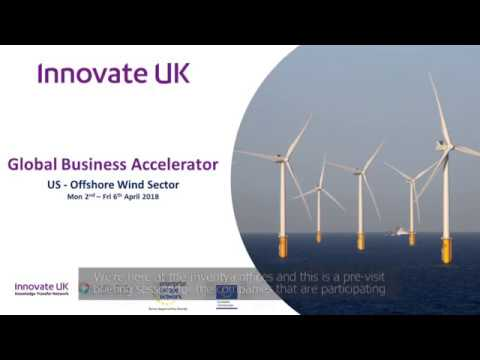 Global Business Accelerator Programme - US Offshore Wind (pre-visit briefing short video)