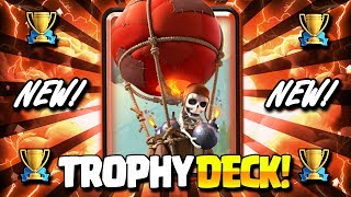 THE NEW ULTIMATE CYCLE DECK = FAST TROPHY PUSH!! LADDER WINS!