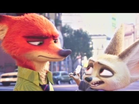 [HD] Zootopia - All Finnick Lines