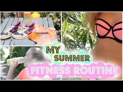 FITNESS ROUTINE für die perfekte Bikini Figur!
