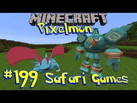 Pixelmon 3.0 Safari Games [Ep 199]
