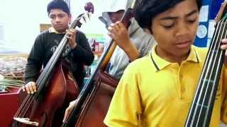 2014 Clendon Park School Basses - 12 November 2014