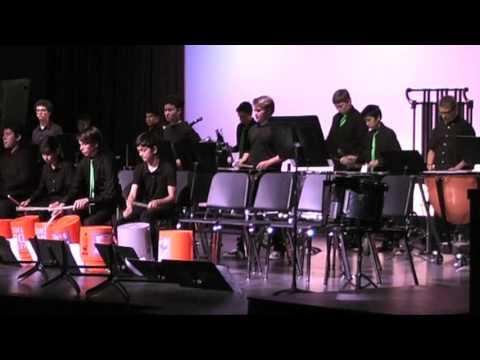 La Colina Junior High School @ Santa Barbara,  05/24/2017 Drumline Can't Run But