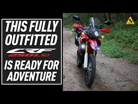 Outfitting the  Honda CRFL Rally for Adventure | TwistedThrottle.com
