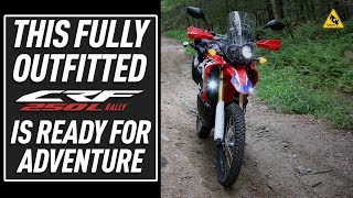 Outfitting the 2017 Honda CRF250L Rally for Adventure | TwistedThrottle.com