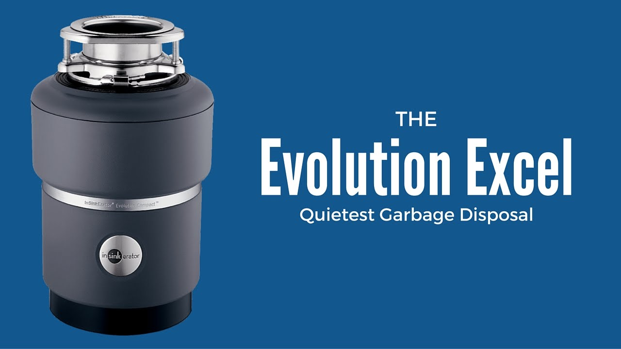 InSinkerator Evolution Excel 1 HP Continuous Feed Garbage Disposer