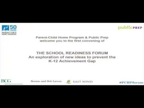 School Readiness Forum, Fall 2017