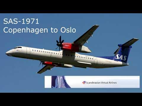 SAS1971 - Copenhagen to Oslo