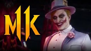 Mortal Kombat 11 - Joker NEW Intro REVEALED w/ NEW Skin! (Injustice 3 Teaser?)