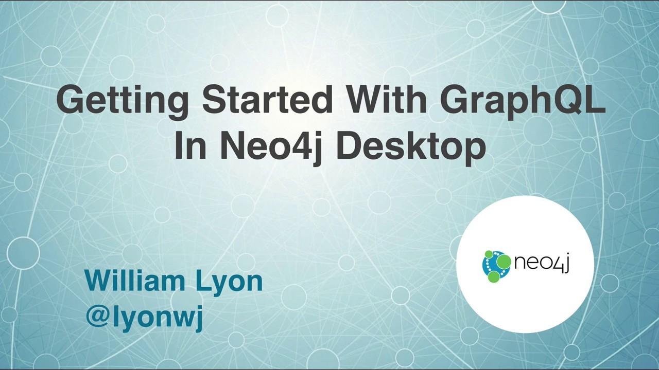 Neo4j GraphQL Database Plugin · GRANDstack