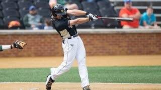 Stuart Fairchild - Wake Forest baseball Highlights 2014-2016.