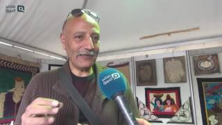 مصر العربية   سعيد الباجورى ..صانع المراكب الفرعونية بمعرض الكتاب
