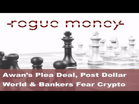 Rogue Mornings - Awan's Plea Deal, Post Dollar World & Bankers Fear Crypto (09/13/2017)