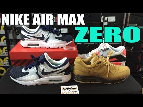 Nike Air Max Zero Comparison Review + On Feet