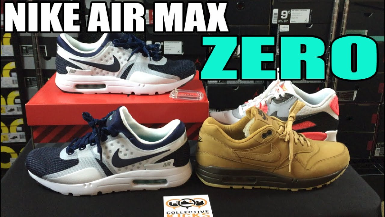 separation shoes 7cf26 18eff ... norway nike air max zero comparison review on feet youtube dd84e 5dd57
