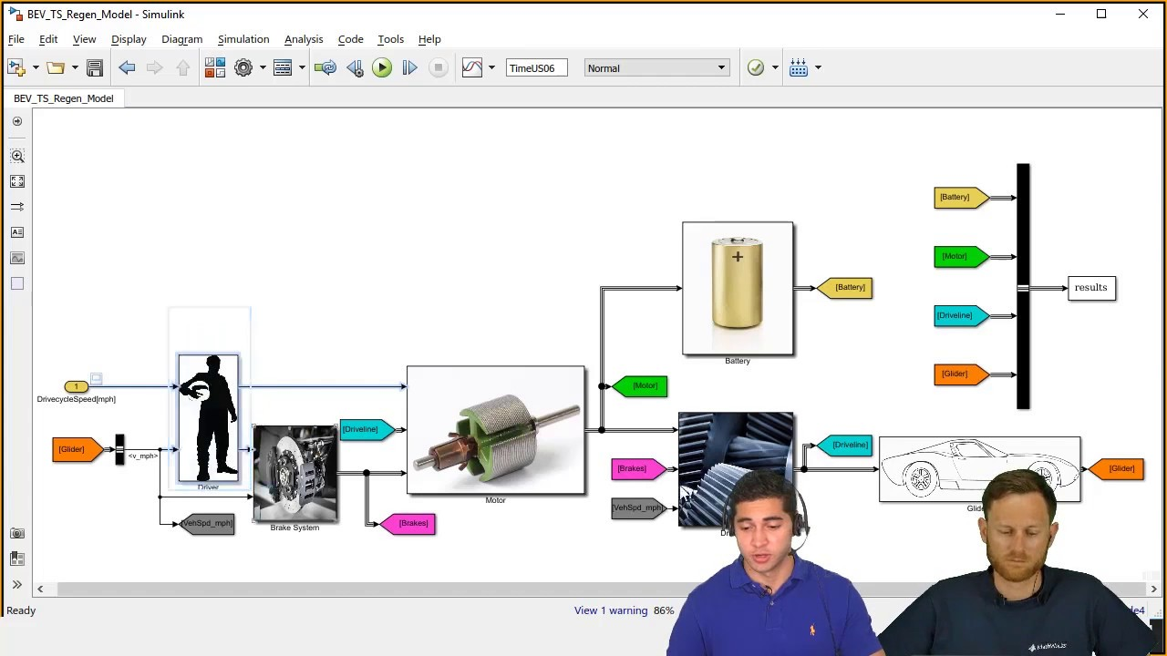 Vehicle Modeling Using Simulink