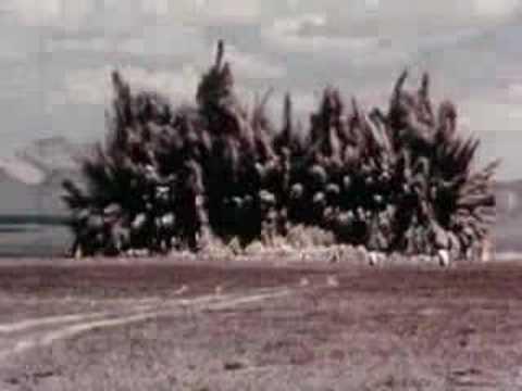 Big Underground Explosion 1 U S Atomic Energy Commission