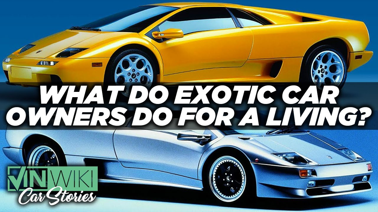 What do exotic car owners do for a living?