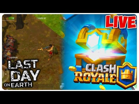 LAST DAY ON EARTH/CLASH ROYALE | BUNKER BRAVO/CLAN CHEST