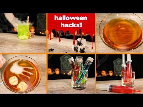 Halloween Hacks - Tipsy Bartender