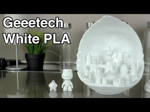 Geeetech White PLA - 3D Printer 1,75mm PLA Filament