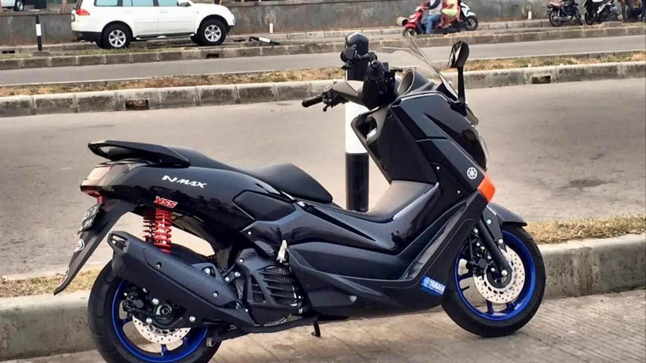 Download Kumpulan 58 Modifikasi Yamaha Nmax Warna Hitam Terupdate