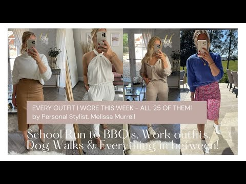 What I wore in a week by Melissa Murrell, June 21