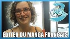 Editer du manga français