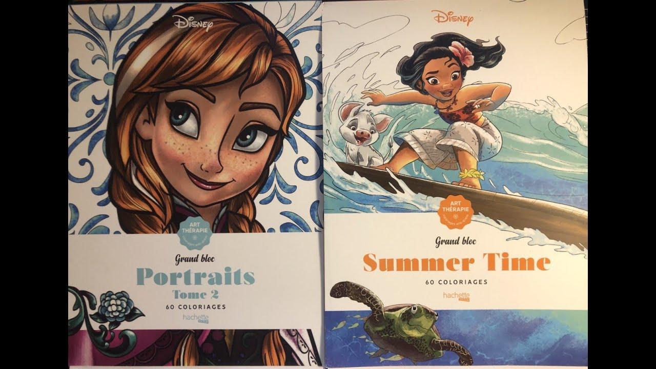NEW DISNEY PORTRAITS 10 Flip-through PLUS Disney Summer Time