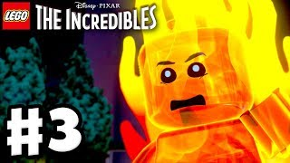 LEGO The Incredibles - Gameplay Walkthrough Part 3 - Revelations!