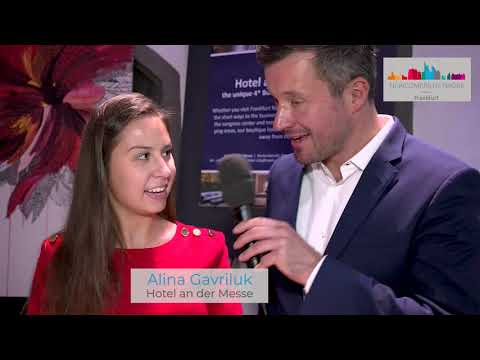 Newcomers Festival 2019: Interview Dr. Söhngen & Alina Gavriluk from Hotel an der Messe